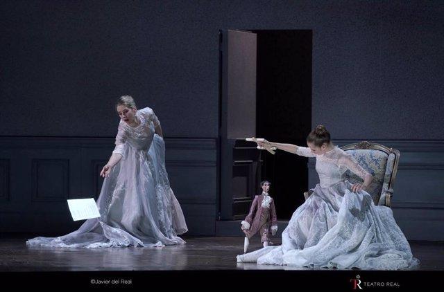 Escena de la ópera Capriccio