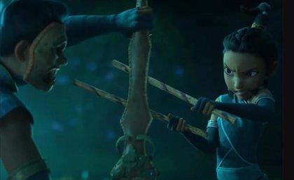 Espectacular tráiler de Raya y el último dragón, la nueva guerrera de Disney