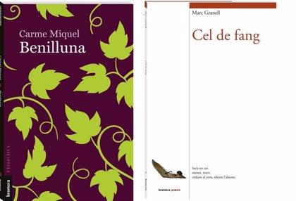 """Bromera apuesta por el """"compromiso con la vida"""" con la obra póstuma de Carme Miquel y nuevos poemas de Marc Granell"""