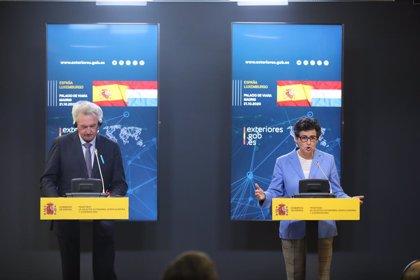 El ministro de Exteriores de Luxemburgo da su apoyo al turismo en Canarias diciendo que planea viajar en noviembre