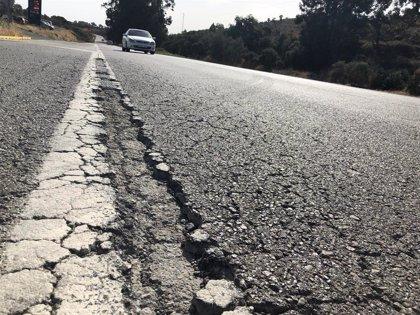 """Transportes promete la mayor asignación presupuestaria """"de los últimos años"""" en la conservación de carreteras"""