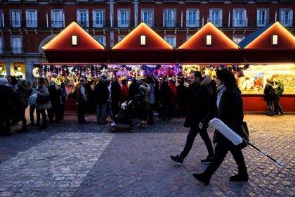 El mercadillo de Navidad en la Plaza Mayor se reducirá este año a la mitad y Ayuntamiento bonificará sus tasas