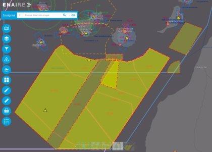 Enaire y el Ejército del Aire coordinan un ejercicio internacional del combate aéreo en el Atlántico