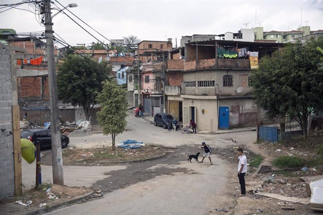 Imagen de archivo de una calle de Sao Paulo, en Brasil.