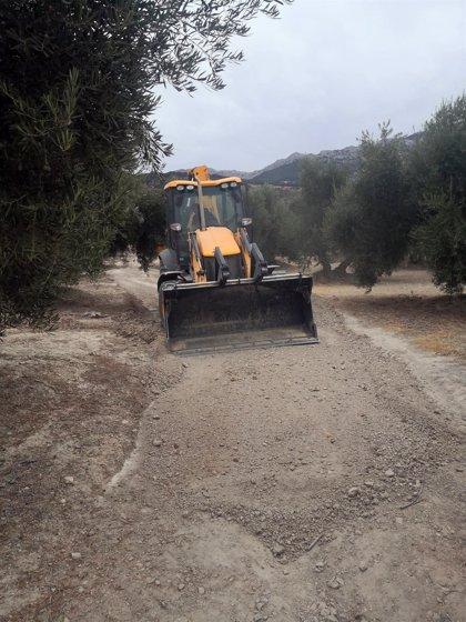 El Ayuntamiento de Quesada (Jaén) destina más de 300.000 euros al arreglo de la red de caminos rurales