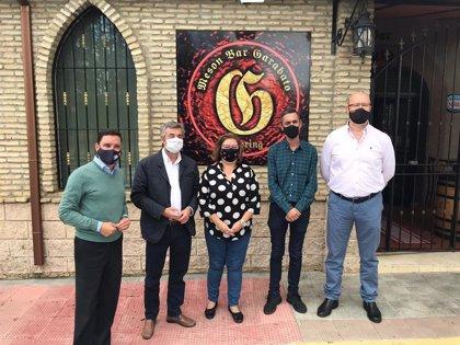 El PP de Sevilla anima a las pymes industriales a pedir las ayudas de la Junta por caídas de cifras de negocio