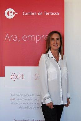Susanna Patiño, nova secretària general en funcions de la Càmera de Terrassa