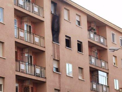 Extinguido un incendio originado en una vivienda de Ezequiel González en Segovia capital