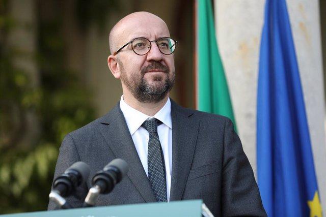 Coronavirus.- Michel convoca el día 29 a los líderes europeos por videoconferenc