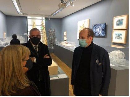 La Generalitat destaca el ingreso de obras de RCR y MiAS Arquitectes en el Centro Pompidou