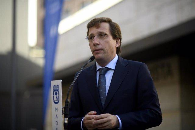 El alcalde de Madrid, José Luis Martínez-Almeida, en una imagen de archivo