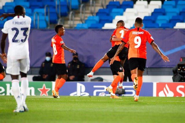 Fútbol/Champions.- Crónica del Real Madrid - Shakhtar Donetsk, 2-3