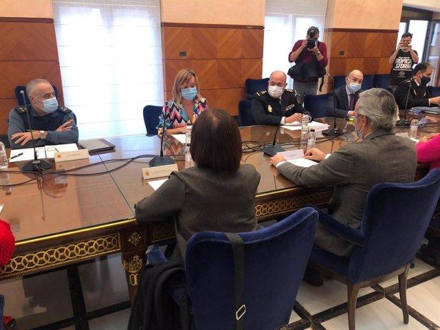 Reunión de la Junta Local de Seguridad de Zaragoza