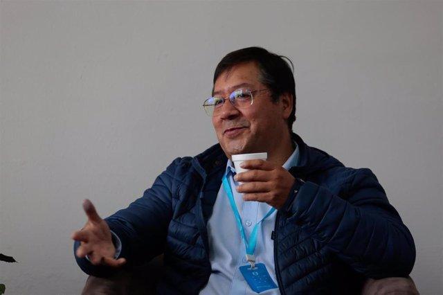 Luis Arce, candidato presidencial del MAS