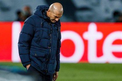 """Zidane: """"Ha sido una noche difícil, pero me veo capaz de encontrar soluciones"""""""