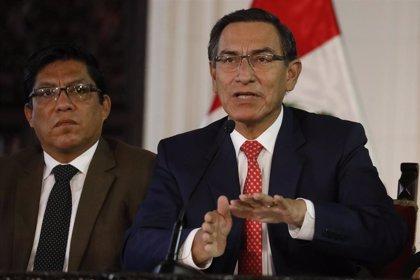 """Vizcarra considera """"inoportuna"""" la nueva moción de censura y se remite a la """"cordura"""" de los parlamentarios"""