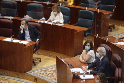 Ayuso comparece este jueves en el Pleno de la Asamblea para dar cuenta de la dimisión de Reyero