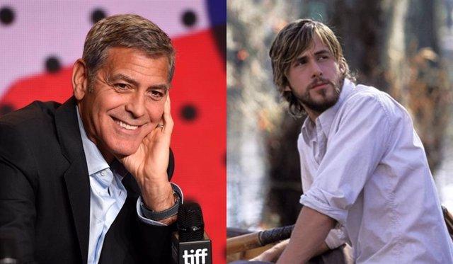 George Clooney estuvo a punto de sustituir a Ryan Gosling en El diario de Noa