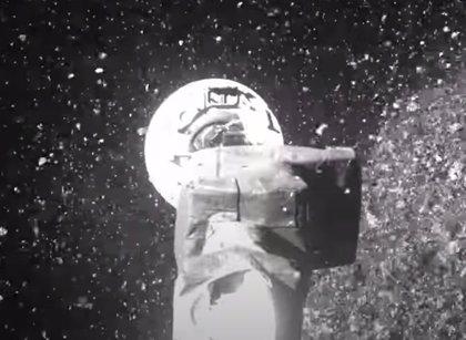 VÍDEO Así recogió muestras la nave OSIRIS-REx en el asteroide Bennu