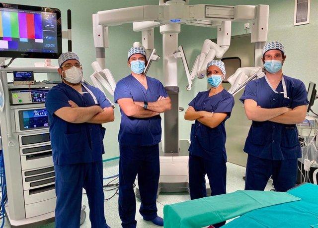 Cirugía Torácica de Quirónsalud Madrid alcanza las 200 cirugías con el robot quirúrgico Da Vinci.