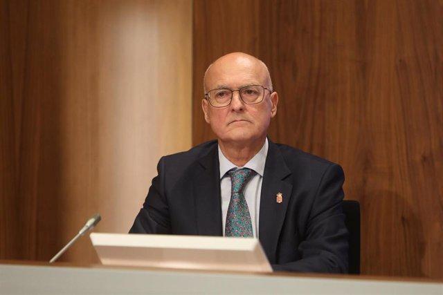 El consejero de Cohesión Territorial, Bernardo Ciriza