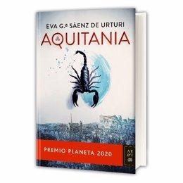 Portada de 'Aquitania', de Eva Garcia Sáenz de Urturi