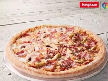 Telepizza crea la pizza ElClásico con motivo del FC Barcelona-Real Madrid de este sábado