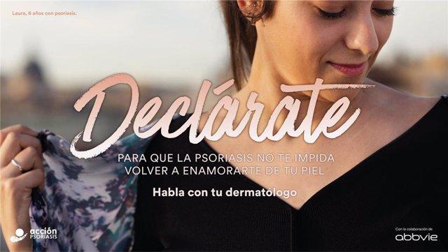 Camapaña 'Declárate', de Acción Psoriasis.