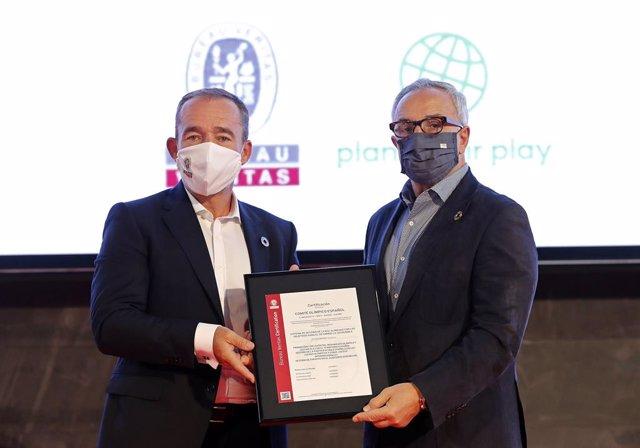 JJ.OO.- El COE, primera entidad deportiva del mundo con certificación alineada c