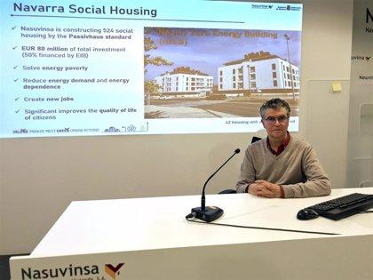 El Gobierno de Navarra presenta en Europa sus buenas prácticas en política de vivienda social y edificación sostenible