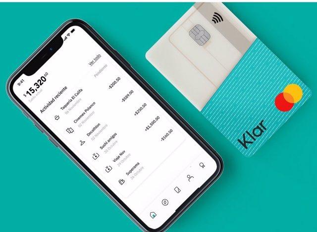App y tarjeta de Klar