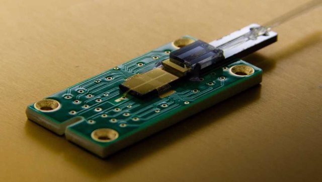 Cableado óptico para grandes ordenadores cuánticos