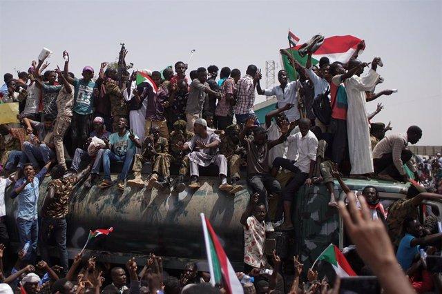 Protestas en la capital de Sudán, Jartum