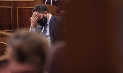 Fracasa la moción de censura de Abascal al no sumar Vox ni un voto en el Congreso