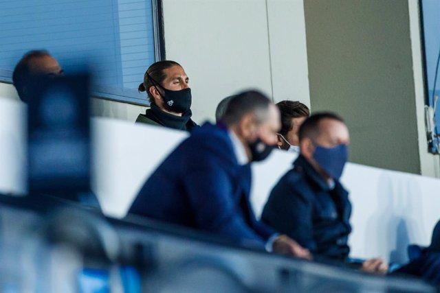 Fútbol.- Sergio Ramos entrena aparte del grupo a dos días de visitar el Camp Nou