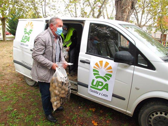 UPA entrega una tonelada de patatas a Entrevecinos para su distribución entre qu