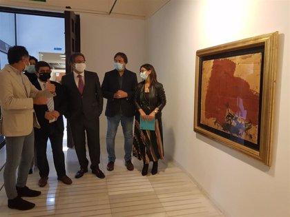 MásJaén.- El Centro Cultural Baños Árabes acoge una muestra con 26 obras de grandes artistas de vanguardia