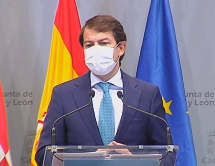 Mañueco pide por carta a Sánchez que aplique el toque de queda en CyL