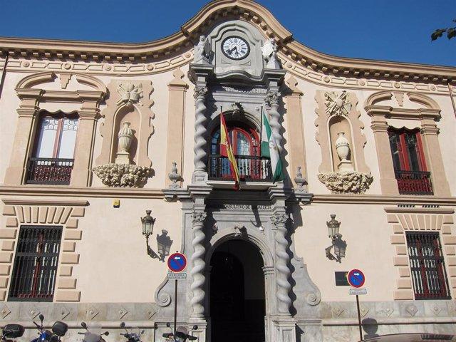 Imagen de archivo de la sede del Consejo Consultivo de Andalucía.