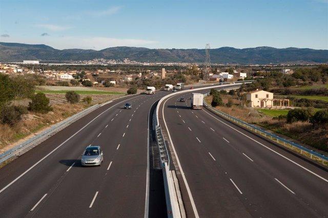 Una de les autopistes d'Abertis a Espanya.