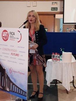 La secretaria general de UGT Andalucía, Carmen Castilla, ha participado en el acto de inauguración del sexto Congreso regional de FICA UGT Andalucía.