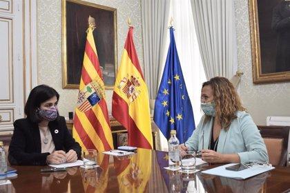 """Mayte Pérez se reúne con la ministra de Política Territorial para reforzar la """"relación bilateral"""" con el Estado"""
