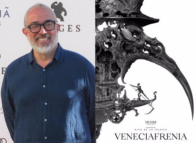 Álex de la Iglesia ya rueda en Venecia su película de terror 'Veneciafrenia'