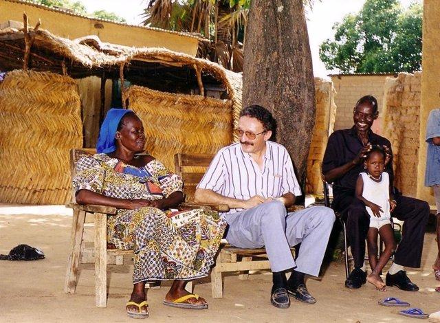 El misionero comboniano en Chad Enrique Rosich