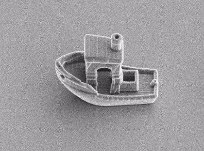 El barco más pequeño de la Tierra