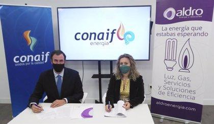 COMUNICADO: Conaif firma un acuerdo con Aldro para comercializar energía bajo la nueva marca Conaif Energía
