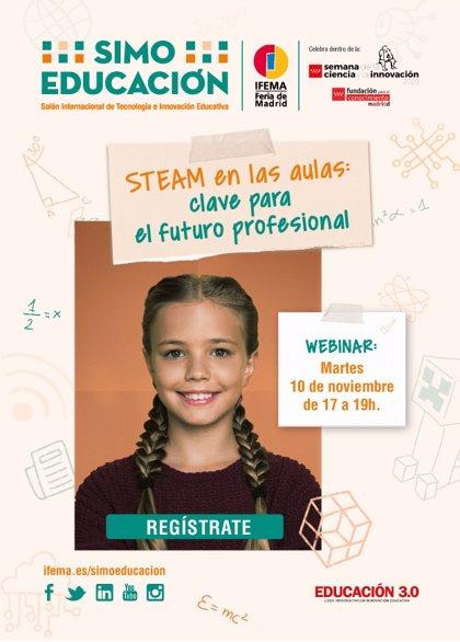 Simo Educación se suma a la XX Semana de la Ciencia y la Innovación de Madrid con un evento virtual