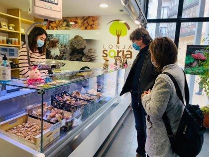 El Ayuntamiento de Soria pone en marcha la lonja micológica en el Mercado Municipal
