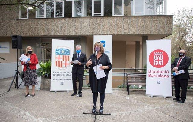 Inauguración de la Clínica Psicológica de la UB, en el Recinte Mundet.