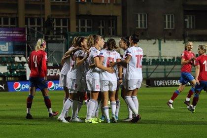 España busca dar un gran paso hacia la Eurocopa femenina